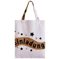 Einladung Lettering Invitation Banner Classic Tote Bag