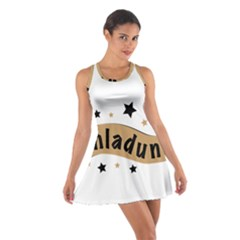 Einladung Lettering Invitation Banner Cotton Racerback Dress
