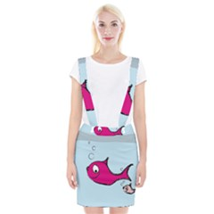 Fish Swarm Meeresbewohner Creature Braces Suspender Skirt