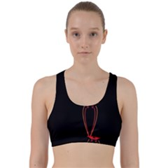 Ship Space Spaceship Back Weave Sports Bra