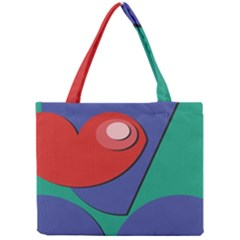 Clipart Portrait Illustration Mini Tote Bag by BangZart