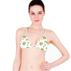 Balloon Ball District Colorful Bikini Top