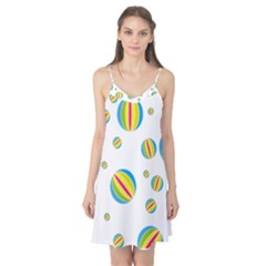 Balloon Ball District Colorful Camis Nightgown