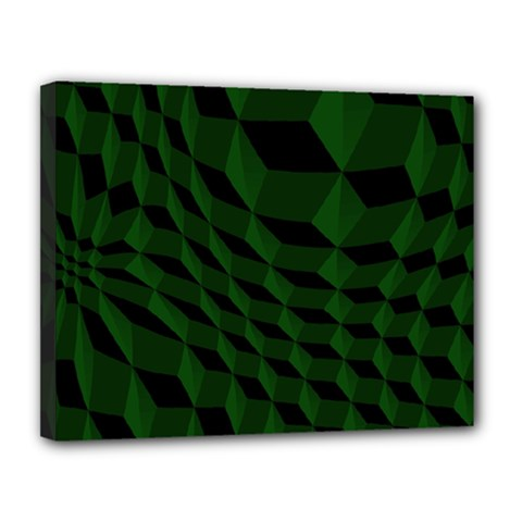 Pattern Dark Texture Background Canvas 14  X 11