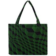 Pattern Dark Texture Background Mini Tote Bag