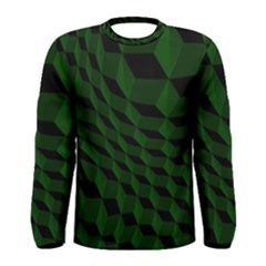Pattern Dark Texture Background Men s Long Sleeve Tee