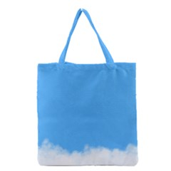 Sky Blue Blue Sky Clouds Day Grocery Tote Bag