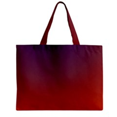 Course Colorful Pattern Abstract Zipper Mini Tote Bag