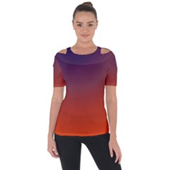 Course Colorful Pattern Abstract Short Sleeve Top