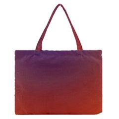 Course Colorful Pattern Abstract Zipper Medium Tote Bag