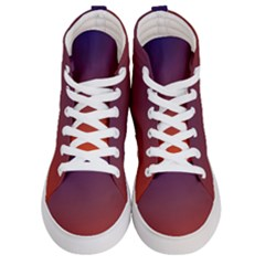 Course Colorful Pattern Abstract Women s Hi Top Skate Sneakers