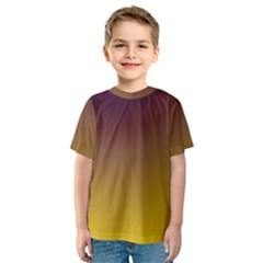 Course Colorful Pattern Abstract Kids  Sport Mesh Tee