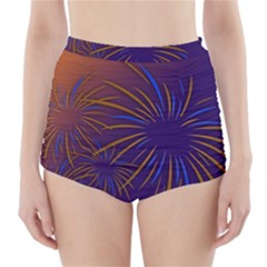 Sylvester New Year S Day Year Party High Waisted Bikini Bottoms