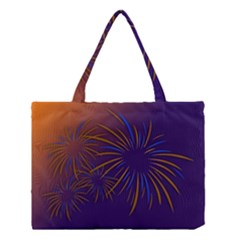 Sylvester New Year S Day Year Party Medium Tote Bag