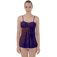 Sylvester New Year S Day Year Party Babydoll Tankini Set
