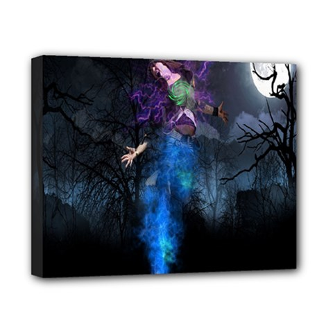 Magical Fantasy Wild Darkness Mist Canvas 10  X 8  by BangZart