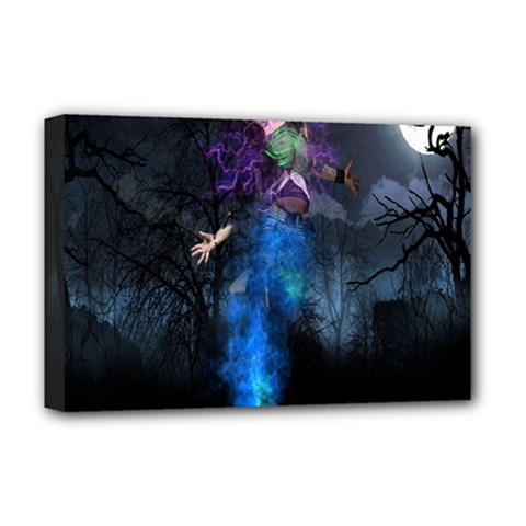 Magical Fantasy Wild Darkness Mist Deluxe Canvas 18  X 12