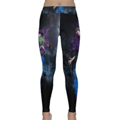Magical Fantasy Wild Darkness Mist Classic Yoga Leggings by BangZart