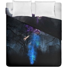 Magical Fantasy Wild Darkness Mist Duvet Cover Double Side (california King Size)