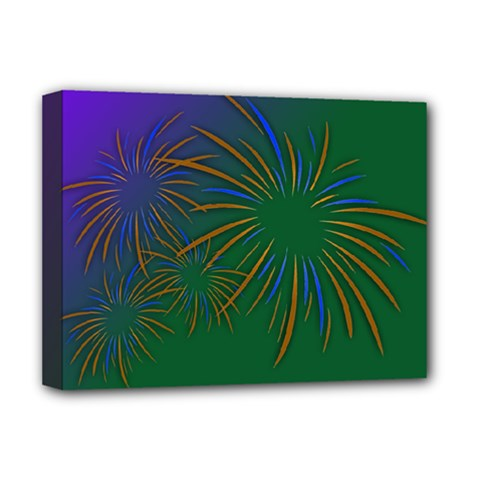 Sylvester New Year S Day Year Party Deluxe Canvas 16  X 12