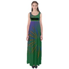 Sylvester New Year S Day Year Party Empire Waist Maxi Dress