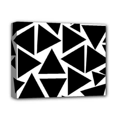 Template Black Triangle Deluxe Canvas 14  X 11  by BangZart