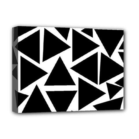 Template Black Triangle Deluxe Canvas 16  X 12