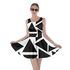 Template Black Triangle Skater Dress