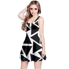 Template Black Triangle Reversible Sleeveless Dress