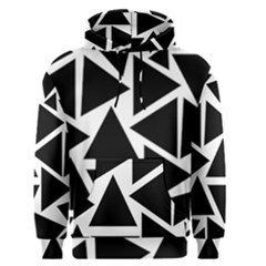 Template Black Triangle Men s Pullover Hoodie