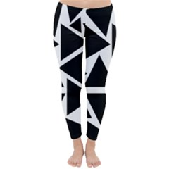 Template Black Triangle Classic Winter Leggings