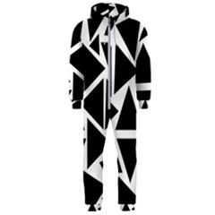Template Black Triangle Hooded Jumpsuit (men)