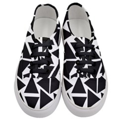 Template Black Triangle Women s Classic Low Top Sneakers