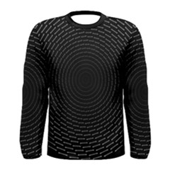 Q Tips Collage Space Men s Long Sleeve Tee