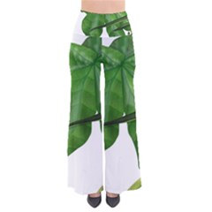 Plant Berry Leaves Green Flower Pants by BangZart