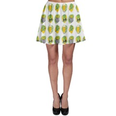 St Patrick S Day Background Symbols Skater Skirt
