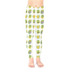 St Patrick S Day Background Symbols Kids  Legging