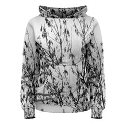Snow Winter Cold Landscape Fence Women s Pullover Hoodie