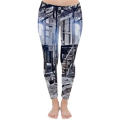 House Old Shed Decay Manufacture Classic Winter Leggings