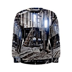 House Old Shed Decay Manufacture Women s Sweatshirt