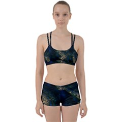 Commercial Street Night View Women s Sports Set