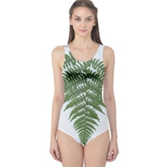 Boating Nature Green Autumn One Piece Swimsuit by BangZart