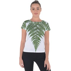 Boating Nature Green Autumn Short Sleeve Sports Top