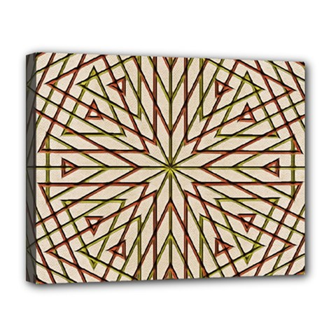 Kaleidoscope Online Triangle Canvas 14  X 11