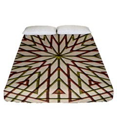 Kaleidoscope Online Triangle Fitted Sheet (queen Size)