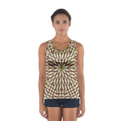 Kaleidoscope Online Triangle Sport Tank Top
