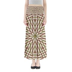 Kaleidoscope Online Triangle Full Length Maxi Skirt