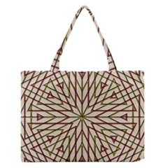 Kaleidoscope Online Triangle Zipper Medium Tote Bag
