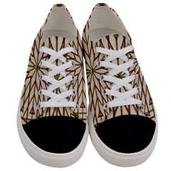 Kaleidoscope Online Triangle Women s Low Top Canvas Sneakers