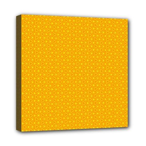 Texture Background Pattern Mini Canvas 8  X 8